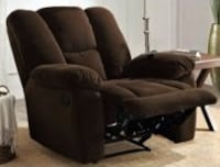 BRAND NEW MASSAGE RECLINER - dual massage motor, an in-arm storage compartment, USB charging port ..      Horizon City