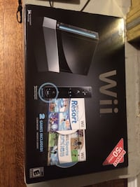 Wii set with games and fitness balance board Pickering, L1V 6R1