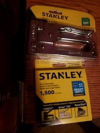 New Stanely staple gun and staples  Chico