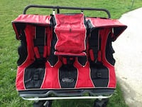 red and black camping chair Logan, 84341