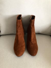 ALDO suede wedge booties size 37- never worn Mississauga, L5M 0C5