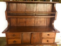 Very old hard wood hanging cabinet newly refinish  Cambridge, N1T 2G1
