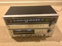 Vintage Fisher amplifier and tuner Silver Spring