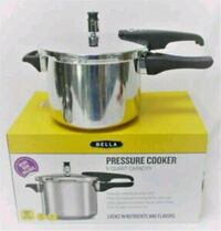 New - Bella 5-Quart Pressure Cooker