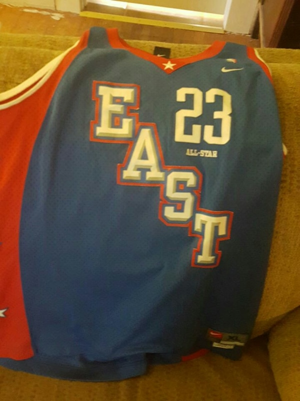 new concept b101b bccf5 Lebron East All-Star Jersey (Cavs pre-Heat)