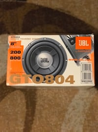 "JBL 8"" Car Audio SubWoofer"