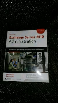 EXCHANGE SERVER 2010 ADMINISTRATION wth CD  Winnipeg, R2H 0Z3