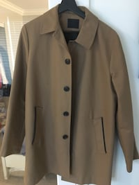 brown button-up coat Burnaby