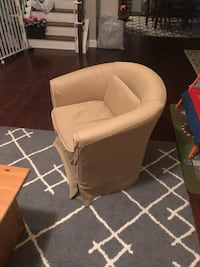 tan armchair Wake Forest, 27587