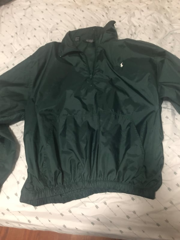 Polo Ralph Lauren quarter zip jacket XL 1
