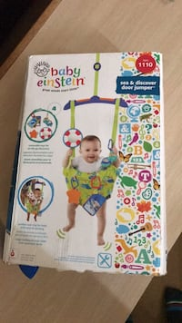 Yellow blue and green jumperoo in buffalo letgo for Door jumperoo