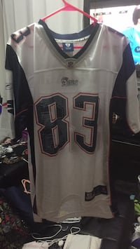 White and black nfl jersey Methuen, 01844