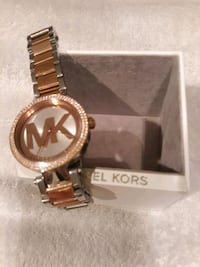 Michael Kors Watch White Marsh