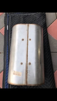 DINAN MUFFLER D663-0380/R single in single out no tips.rare item!!! Elmwood Park, 07407