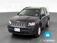 2015 Jeep Compass suv Latitude Sport Utility 4D Blue  Fort Myers