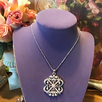 Gorgeous! Victorian Necklace With Crystals &Pearls Gainesville, 20155