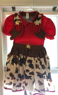 Pottery barn cowgirl costume