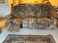 Recliner sofa couch