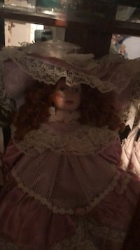 brown and white dressed doll Margate, 33063