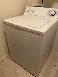 Electric GE washer and dryer