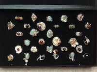 Ring's - natural stones - make an offer Anchorage, 99501