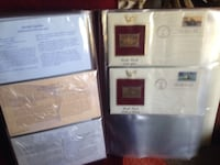 Gold plated collectible stamps Fullerton, 92833
