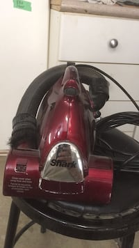 Red and black canister vacuum cleaner Vancouver, V5S