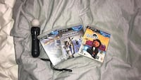 Play station move controller + games Richmond Hill