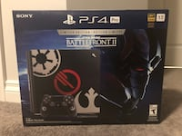 Lightly used PS4 Pro BF2 limited edition 3154 km