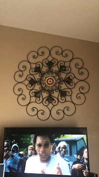Black metal wall mount candle holder Gulfport, 39503