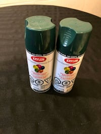 Krylon Spray Paint Set of 2 - Dark Green Toronto, M1V 5E4