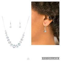 Crystal carriage necklace  Gaithersburg