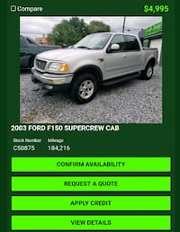 2003 Ford F-150 Maple Shade Township
