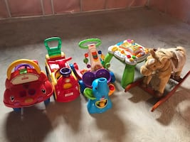 Toddler and baby toys and cars
