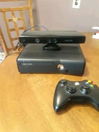 black Xbox 360 console with controller Paterson, 07501