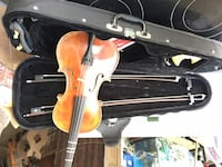 Frederick Strobel 4/4 violin with case and accessories. Paid 1500.00 used handful of times literally. Son quit paying after purchase Amissville
