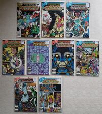Crisis on Infinite Earths comic lot Mount Airy