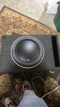 """new 13.5"""" jl audio w7 with double thick box Mechanicsville, 20659"""