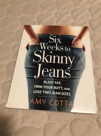 """""""Skinny Jeans exercise and Diet book. Barrie, L9J 0G9"""