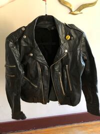 Real Leather Motorcycle Jacket Vancouver