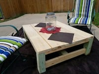 CUSTOM BUILT Outdoor Coffee or Cocktail Table Cedar Hill