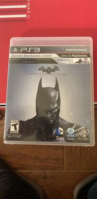 Batman: Arkham Origins (PS3) Washington, 20016