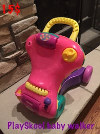toddler's pink and yellow ride on toy Wheaton, 60189