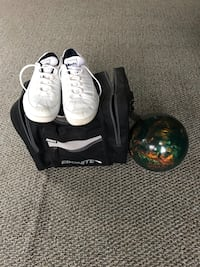 Bowling  ball and shoes Mullica Hill, 08062