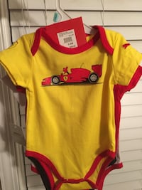 Official Licensed Ferrari made by Puma 3 pack onesies, size 3-6 months Charles Town, 25414