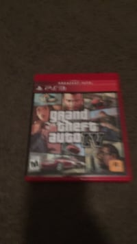 PS3 Grand Theft Auto 4 game case Fort Atkinson, 53538