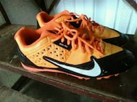 pair of orange-and-black Nike running shoes Bartow, 33830