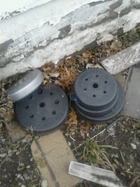 Weights, various.