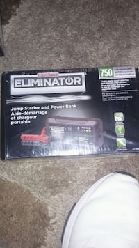 Eliminator jump starter and power bank
