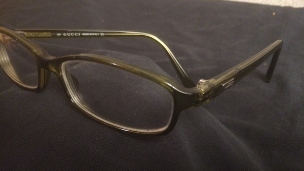 3d12101d24 Gucci prescription glasses. Code   135 GG 1515 Zx6. Green frames. No  scratches
